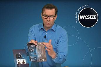 Video: Encuentre tu condón _MYSIZE_ de tamaño perfecto.