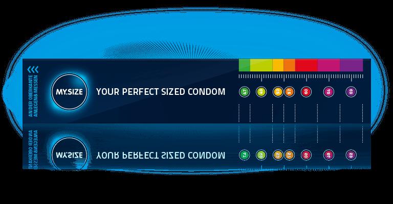 Medición con la guía del condón