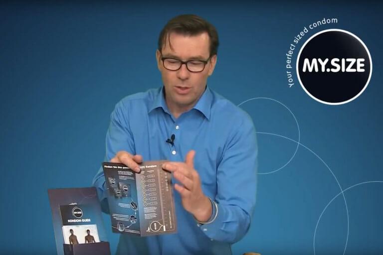 Video: Encuentre tu condón MY.SIZE de tamaño perfecto.